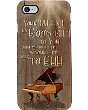 Pianist Your talent is god gift to you Phone Case i-phone-7-case