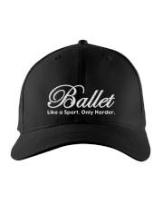 Ballet Like A Sport - Only Harder Embroidered Hat front