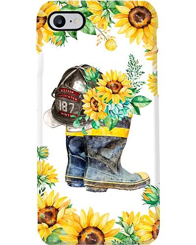 Firefighter Sunflower Boots
