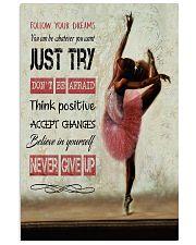 Ballet Follow your dreams 11x17 Poster front