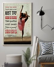Ballet Follow your dreams 11x17 Poster lifestyle-poster-1