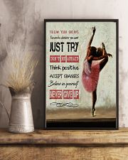 Ballet Follow your dreams 11x17 Poster lifestyle-poster-3