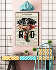 Registered Dietitian Flower Poster  24x36 Poster lifestyle-poster-6