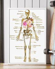 Floral Skeleton Parts Art Print  11x17 Poster lifestyle-poster-4