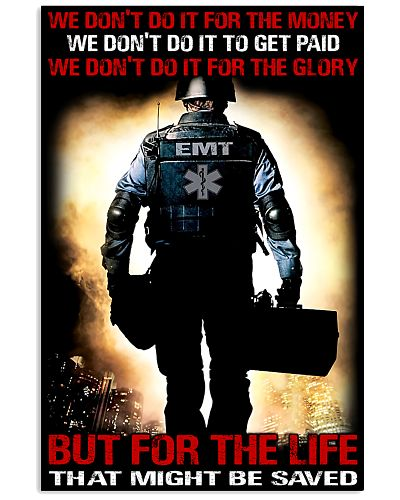 Paramedic For The Life That Might Be Saved