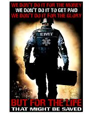 Paramedic For The Life That Might Be Saved 11x17 Poster front