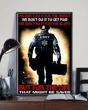 Paramedic For The Life That Might Be Saved 11x17 Poster lifestyle-poster-2