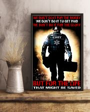 Paramedic For The Life That Might Be Saved 11x17 Poster lifestyle-poster-3