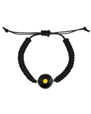 DJ Vinyl Cord Circle Bracelet thumbnail