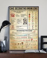 Baking Cake Decorating Knowledge 11x17 Poster lifestyle-poster-2