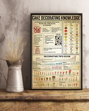 Baking Cake Decorating Knowledge 11x17 Poster lifestyle-poster-3