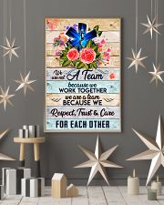 Paramedic We are a team 24x36 Poster lifestyle-holiday-poster-1