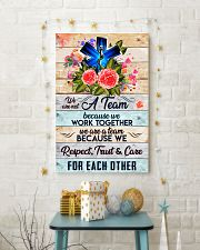 Paramedic We are a team 24x36 Poster lifestyle-holiday-poster-3