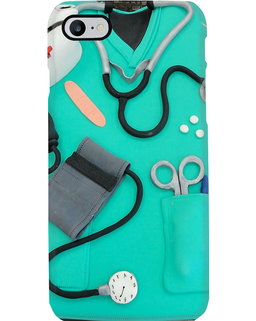Medical Assistant Scrubs Phone Case