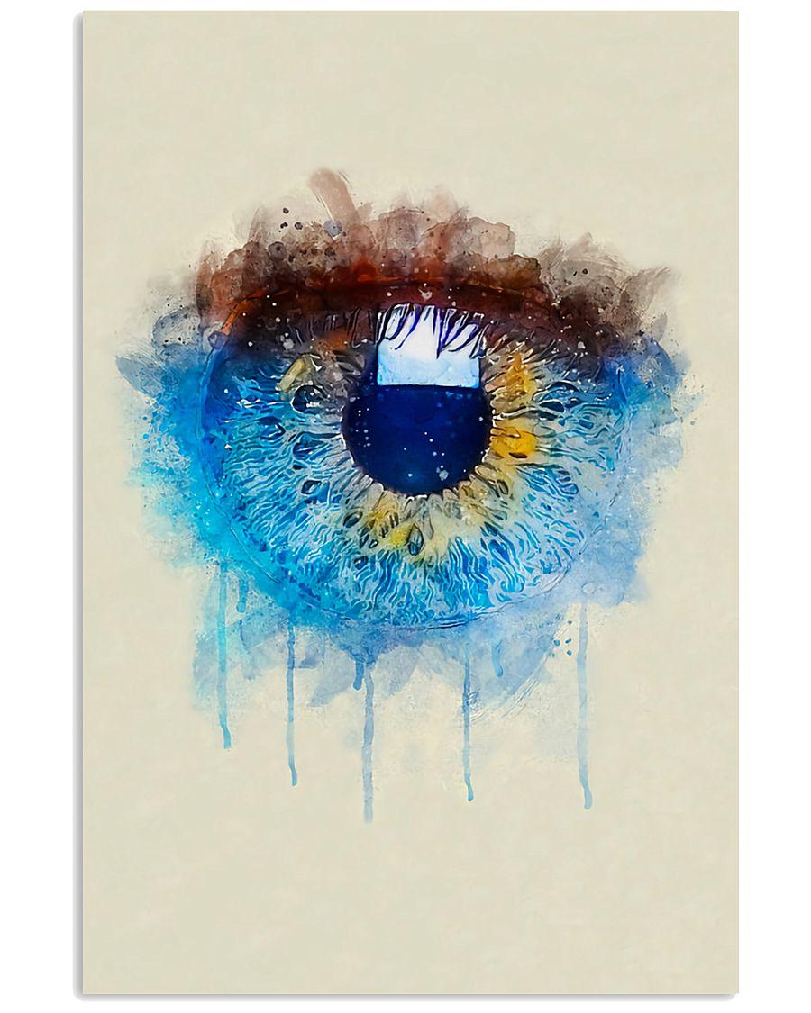 Optometrist Iriscolor Eye 11x17 Poster