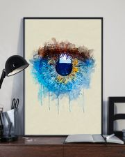 Optometrist Iriscolor Eye 11x17 Poster lifestyle-poster-2
