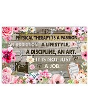 Physical Therapy Is A Passion 17x11 Poster front