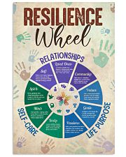 Social Worker Resilience Wheel 11x17 Poster front
