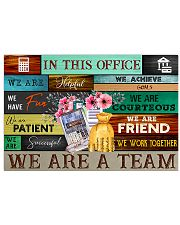 Accountant In This Office We Are A Team 17x11 Poster front