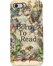 Books Born To Read Phone Case i-phone-7-case