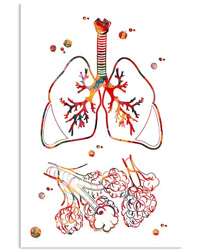 Respiratory Therapist Lungs And Alveoli Watercolor