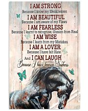 Horse Girl I Am Strong  11x17 Poster front