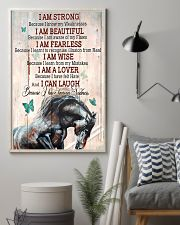 Horse Girl I Am Strong  11x17 Poster lifestyle-poster-1