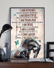 Horse Girl I Am Strong  11x17 Poster lifestyle-poster-2