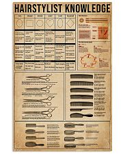 Hairstylist Knowledge  11x17 Poster front