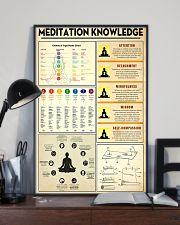 Yoga Meditation Knowledge 11x17 Poster lifestyle-poster-2