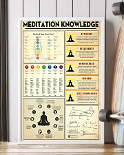 Yoga Meditation Knowledge 11x17 Poster lifestyle-poster-4