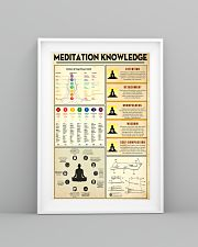 Yoga Meditation Knowledge 11x17 Poster lifestyle-poster-5