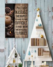 Massage Therapist A truly great massage therapist  11x17 Poster lifestyle-holiday-poster-2