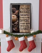 Massage Therapist A truly great massage therapist  11x17 Poster lifestyle-holiday-poster-4