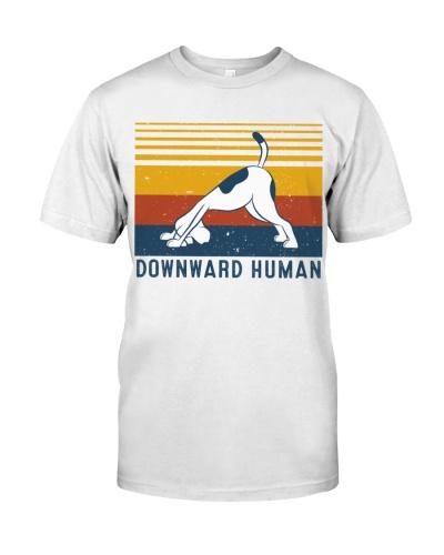 Yoga Downward Human