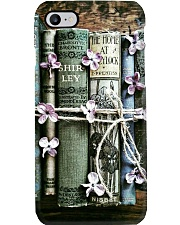 Book Lovers Vintage Flower Books Phone Case i-phone-8-case