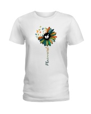 Pharmacist Colorful Icons Ladies T-Shirt front
