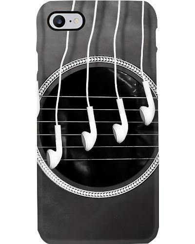 Guitar Strings Earphone