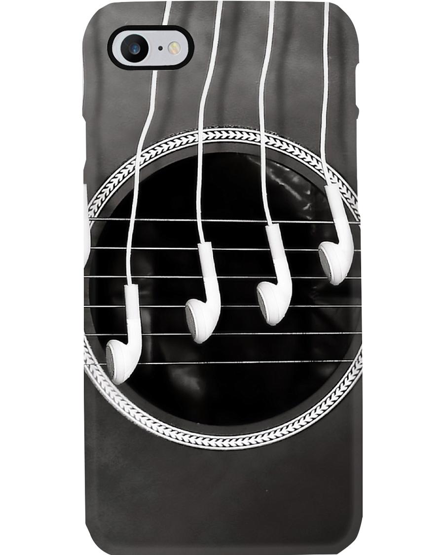 Guitar Strings Earphone Phone Case