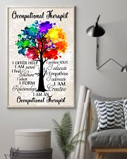 Occupational Therapist Colorful Tree 11x17 Poster lifestyle-poster-1