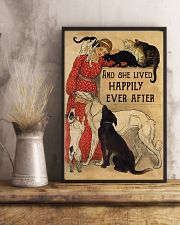 Veterinarian And She Lived Happily Ever After 11x17 Poster lifestyle-poster-3