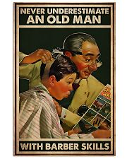 Hairdresser Old Man With Barber Skills 11x17 Poster front
