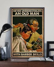 Hairdresser Old Man With Barber Skills 11x17 Poster lifestyle-poster-2