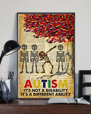 Autism It's A Different Ability 11x17 Poster lifestyle-poster-2