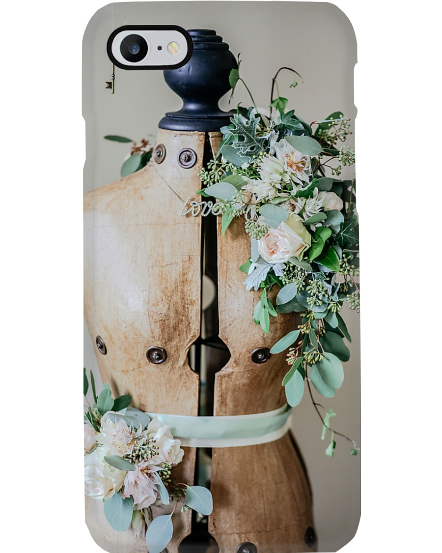 Sewing Mannequin And Flowers Phone Case