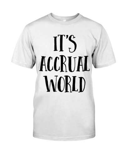 Accountant It's Accrual World