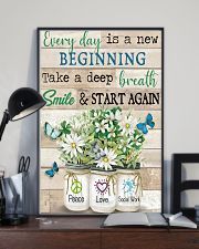 Social Worker Everyday Is A New Beginning 11x17 Poster lifestyle-poster-2