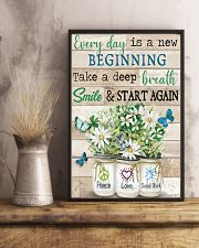Social Worker Everyday Is A New Beginning 11x17 Poster lifestyle-poster-3
