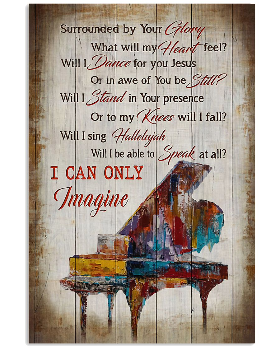 Piano I Can Only Imagine 11x17 Poster