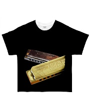 Art Harmonica All-over T-Shirt front